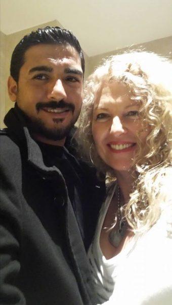 davut and I NY 2014 Atalya